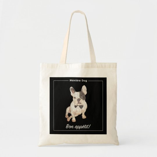 Meniere Dog Tote Bag
