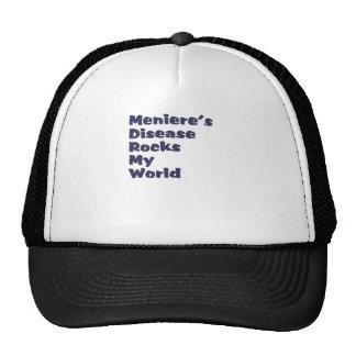 meniere's disease rocks my world cap