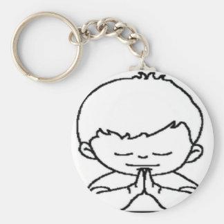 menino.png basic round button key ring