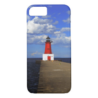 Menominee Lighthouse iPhone 7 Case