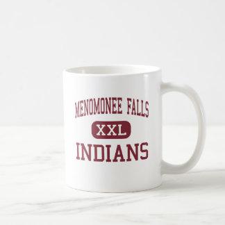 Menomonee Falls - Indians - High - Keshena Basic White Mug