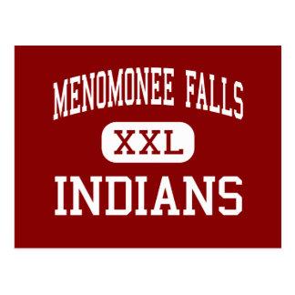 Menomonee Falls - Indians - High - Keshena Postcard