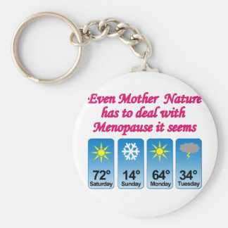Menopause Mother Nature png Keychain