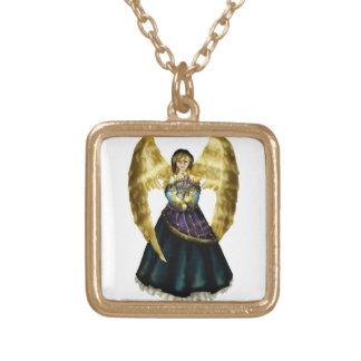 Menorah Angel Pendant