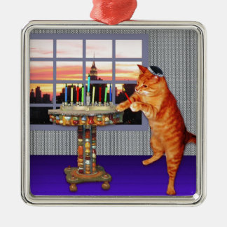 menorah cat.jpg christmas ornament