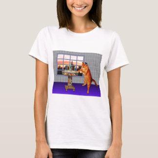menorah cat.jpg T-Shirt