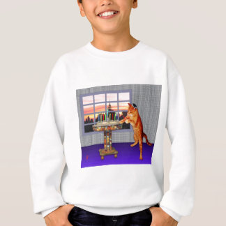 Menorah Cat Sweatshirt