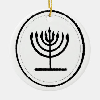 Menorah Christmas Ornament