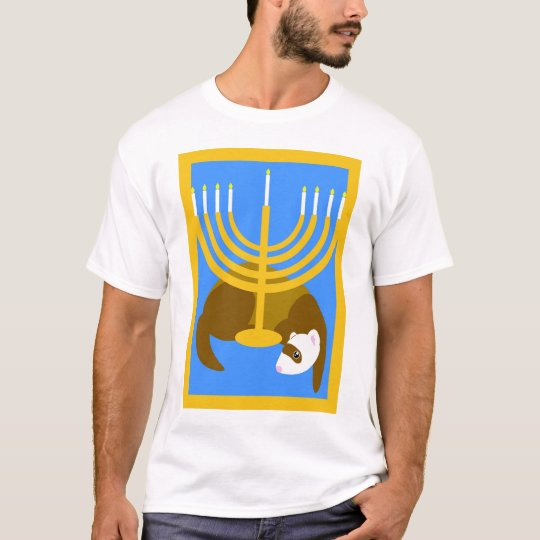 Menorah ferret shirt