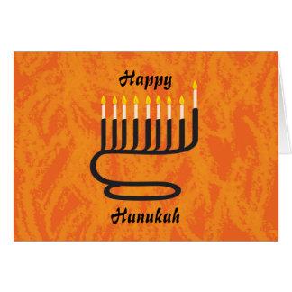 Menorah, Happy, Hanukah Card