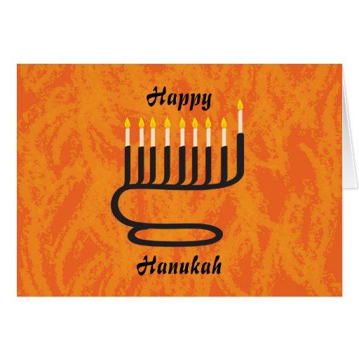 Menorah, Happy, Hanukah Greeting Cards