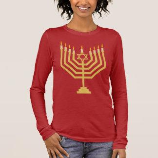 Menorah Long Sleeve T-Shirt