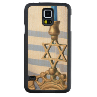 Menorah Maple Galaxy S5 Slim Case