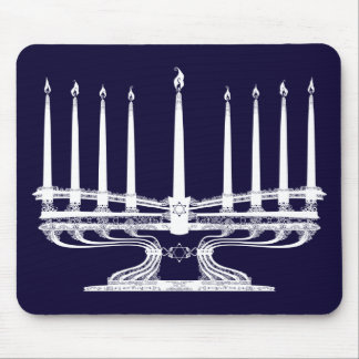 Menorah Mouse Mat