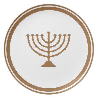 Menorah Plate