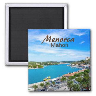 Menorca Mahon Port Magnet