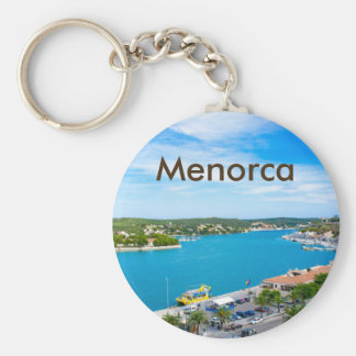 Menorca Mahon Port Souvenir Key Ring
