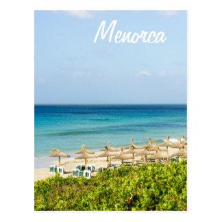 Menorca Santo Tomas Beach Postcard
