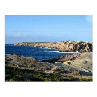 Menorca Scenic Landscape Postcard