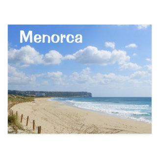 Menorca Son Bou Beach Postcard