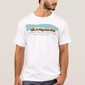 Men's 100 % cotton t-shirt in white