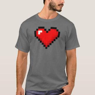 Men's 8-Bit Heart: Classic Retro Gamer T-shirt