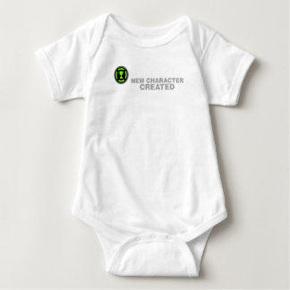 MENS Achievement Unlocked new character created Baby Bodysuit