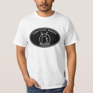 Mens adult CyberCraft Robots Logo T T Shirts