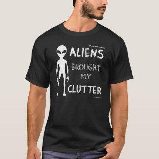 Men's 'Aliens Brought My Clutter' Tee