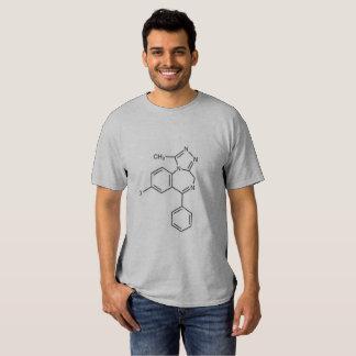 Mens Alprazolam Molecule Shirt (no text)