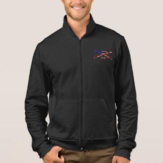 Men's American Apparel Cali Fleece Zip Jogger Jacket