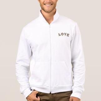 Men's American Apparel California Fleece Zip Jogge Jacket
