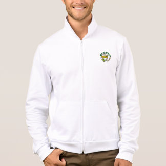Men's American Apparel Fleece-Hornet Football Printed Jacket