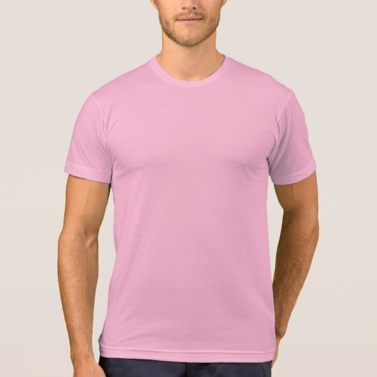 Men's American Apparel Poly-Cotton Blend T-Shirt