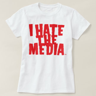 Mens and Womens I Hate The Media (Scary) Tee Shirts