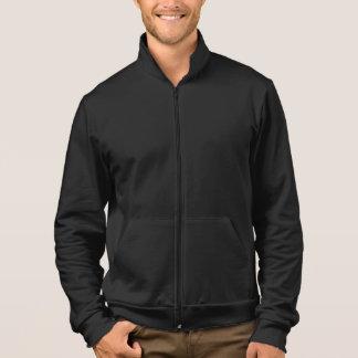 Men's Apparel Fleece Zip Jogger Jacket Black