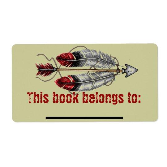 Men's Arrow Bookplate