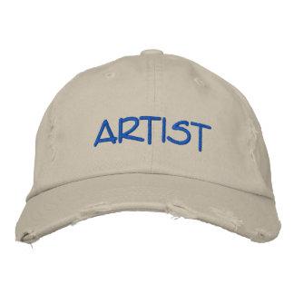 Mens ARTIST Hat Embroidered Cap