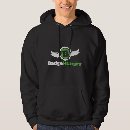 Men's BadgeHungry Hoodie