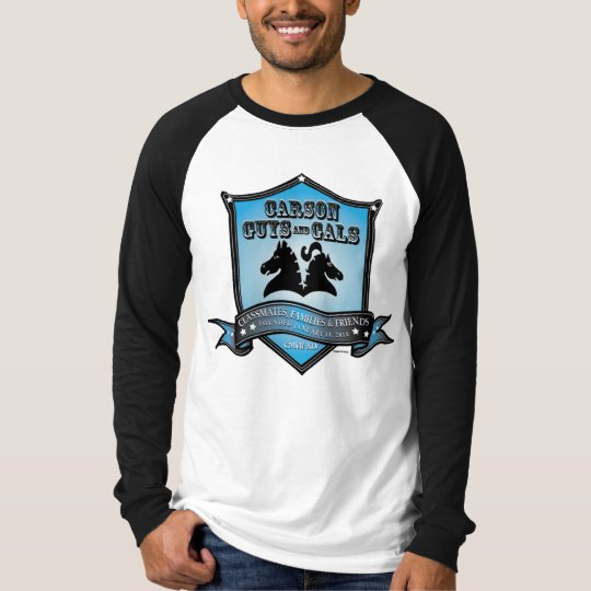 Men's Baseball Logo blue T-Shirt