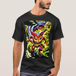 Men's Basic Dark T-Shirt Anime Nature Spirit Folk