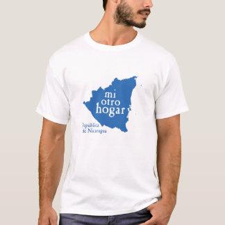 Men's Basic Dark T-Shirt NICARAGUA