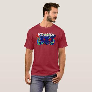 Men's Basic Dark T-Shirt.PRINT BY FRANK MOTHE T-Shirt