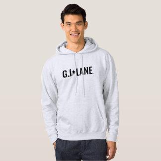 Men's Basic Hooded Sweatshirt - Grey