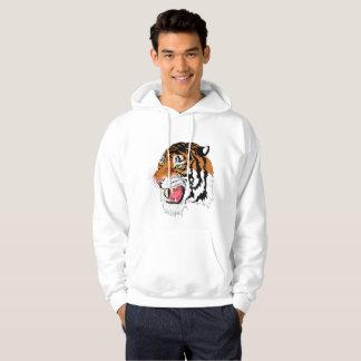 Men's Basic Hooded Sweatshirt - TIGER Collection