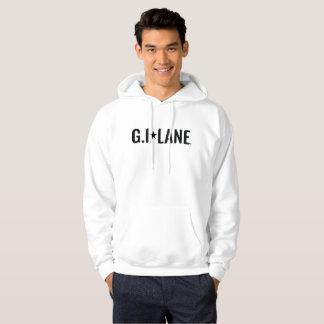 Men's Basic Hooded Sweatshirt - White