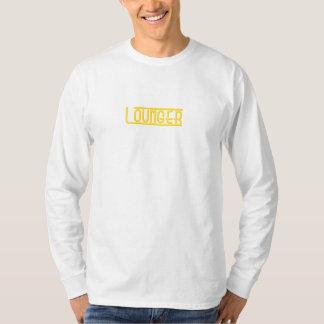 Men's basic L/S Lounger Tee  white/yellow