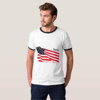 Men's Basic Ringer Resist. T-Shirt