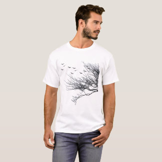 Mens Basic T shirt Trees