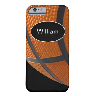 Men's Basketball Theme Barely There iPhone 6 Case